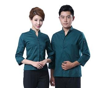 时尚餐饮服务员服装